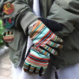 手袋 - チチカカ チチカカ エスニプリントグローブ zhwccc7097 レディース