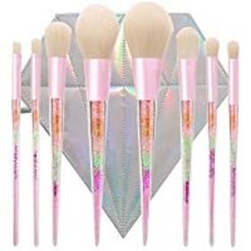 メイクブラシ 化粧筆 8本セットとダイヤモンドバッグ付 非常に柔らかい 敏感肌適用 設計超可愛い