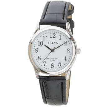 TELVA 皮バンドモデル [メンズ腕時計 /電池式] TE-AM146-BKS