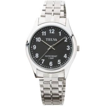 TELVA メタルバンドモデル [メンズ腕時計 /電池式] TE-AM148-BKS