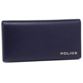 ポリス メンズ 長財布 POLICE PLC132 ネイビー