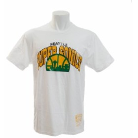 ミッチェルアンドネス(Mitchell&Ness)ネームナンバー Traditional Tシャツ BA2B0C-SSU-W-H0K-XS (Men's)