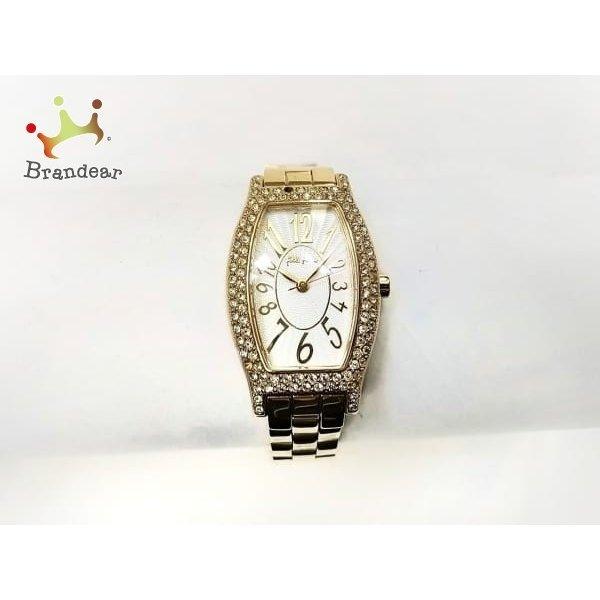 587f1a564e3f フォリフォリ FolliFollie 腕時計 WF5G084BPS レディース ラインストーン ...