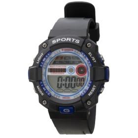 TELVA デジタルウォッチ ウレタンバンドモデル [メンズ腕時計 /電池式] TS-D154-BL