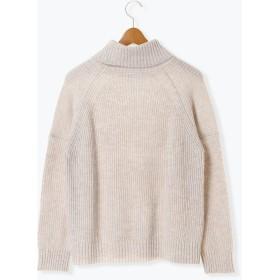 ニット・セーター - Lugnoncure ウォッシャブルラムナイロン畦タートル