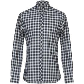 《期間限定セール開催中!》BILLTORNADE メンズ シャツ ブラック S コットン 100%