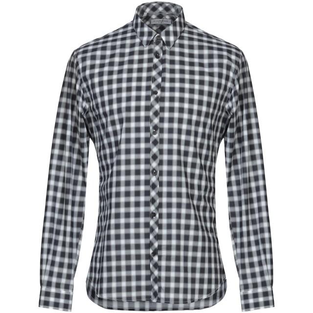 《セール開催中》BILLTORNADE メンズ シャツ ブラック S コットン 100%