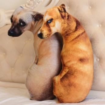 ぬいぐるみ 真似る 犬 かわいい おもちゃ 抱き枕 プレゼント クリスマス 誕生日 お祝い プレゼント 子供の日