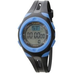 TELVA デジタルウォッチ ウレタンバンドモデル [メンズ腕時計 /電池式] TS-D157-BL