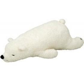 抱き枕 ねむねむ 抱きまくらL WHITE(シロクマのラッキー) 28960-11