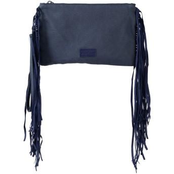 《セール開催中》FISICO レディース ハンドバッグ ダークブルー 紡績繊維