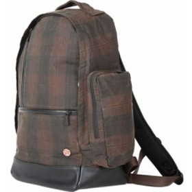 トークン バッグ バッグパック リュックサック メンズ【Token Halsey Backpack】Plaid/Brown