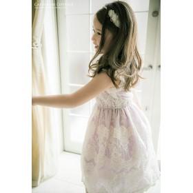 121cf5e6bec71 フォーマルドレス - Catherine Cottage 発表会 ドレス 子供 ロマンティックオーガンジーレースドレス   ワンピース 120