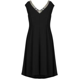 《セール開催中》CARLA MONTANARINI レディース ミニワンピース&ドレス ブラック 44 ポリエステル 100%