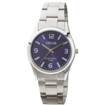 TELVA メタルバンドモデル [メンズ腕時計 /電池式] TE-AM151-BLS