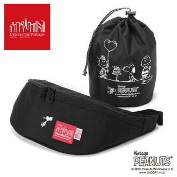 ManhattanPortage×PEANUTS Brooklyn Bridge Waist Bag MP1100PEANUTS18