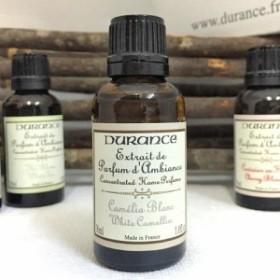 DURANCE / デュランス アロマオイル ホワイトカメリア 30ml パウダリーで女性らしい白ツバキの香り 【アロマオイル】