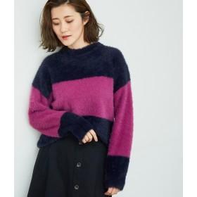 ニット・セーター - ROPE' PICNIC 【洗濯機で洗える】配色ニットプルオーバー