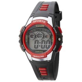 TELVA デジタルウォッチ ウレタンバンドモデル [メンズ腕時計 /電池式] TS-D159-RD