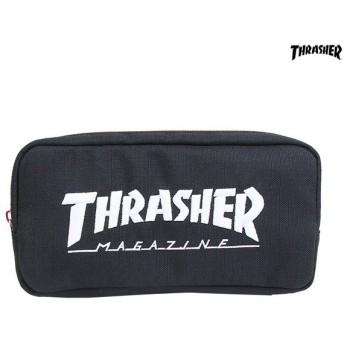 スラッシャー<THRASHER> 筆箱 ホワイト 74602501 [M便 1/1]