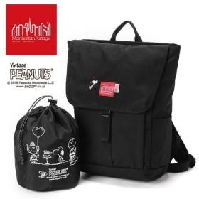 【限定モデル】【ピーナッツ スヌーピーコラボ】マンハッタンポーテージ ManhattanPortage×PEANUTS Washington SQ Backpack JR M MP1220JRPEANUTS18