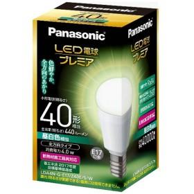 LDA4N-G-E17/Z40E/S/W LED電球 小形電球形 プレミア ホワイト [E17 /昼白色 /1個 /40W相当 /一般電球形 /全方向タイプ]