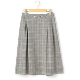 KEITH Lサイズ / キースエルサイズ グレンチェック スカート