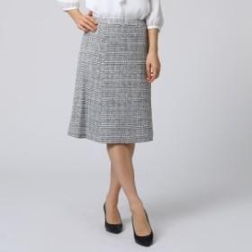 アンタイトル(UNTITLED)/ソフィアツイードマーメイドシルエットスカート