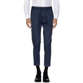 《セール開催中》PAOLO PECORA メンズ パンツ ダークブルー 50 バージンウール 98% / ポリウレタン 2%