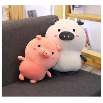 豚 ぬいぐるみ 2色ブタぬいぐるみ 豚 抱き枕 縫い包み プレゼントイベントお祝い ふわふわ ぬいぐるみ30cm