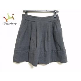マークバイマークジェイコブス スカート サイズ0 XS レディース 美品 ダークグレー               スペシャル特価 20190524