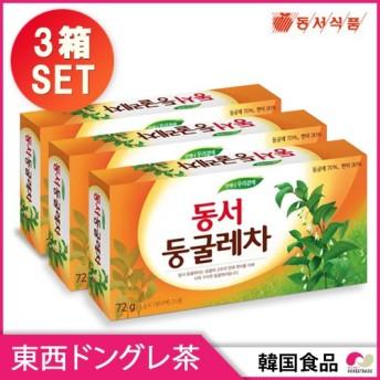 【東西】アマドコロ茶 / ドングレ茶2L用(72g)X3セット (4g x 18包 ティーバッグx3セット) 韓国お茶 韓国食品