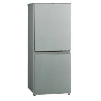 AQUA 2ドア冷蔵庫 (126L・右開き) AQR−13H(S) ブラッシュシルバ (標準設置無料)