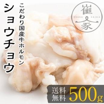 ショウチョウ 500g(100g×5袋) 小腸 国産 牛 ホルモン もつ鍋専門店 BBQ のし対応可能
