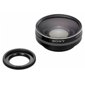 ソニー SONY ビデオカメラ用 ワイドコンバージョンレンズ HANDYCAM HDR-CX550V/XR550V/CX370V/XR350V/CX170/XR150対応 VCL-HGA07B 中古