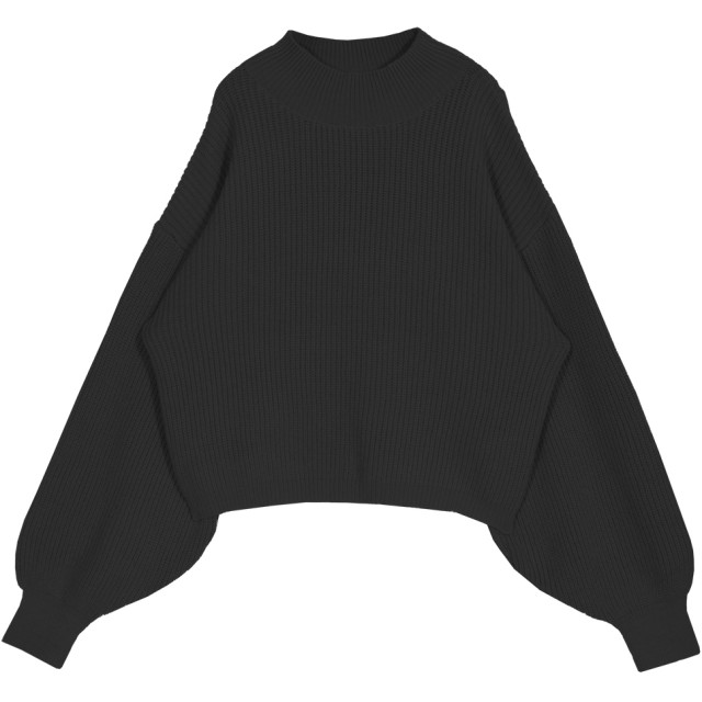 74d140e5d69ad ニット・セーター - JULIA BOUTIQUE ハイネックショート丈ニットトップス・セーター/510219