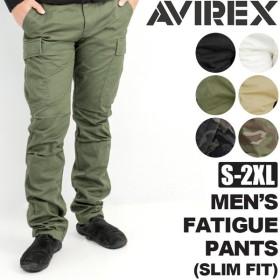 アビレックス AVIREX メンズ ファティーグ パンツ スリムフィット  F