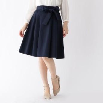 クチュールブローチ(Couture Brooch)/【WEB限定サイズ(SS・LL)あり】リボンベルト付きフレアスカート