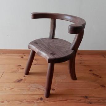 小椅子 ch1110 ウォールナット 子ども椅子