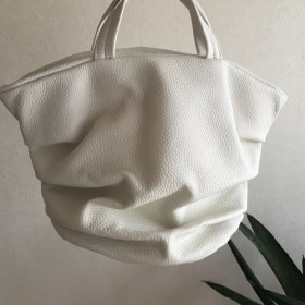 siwa marche bag mini. White