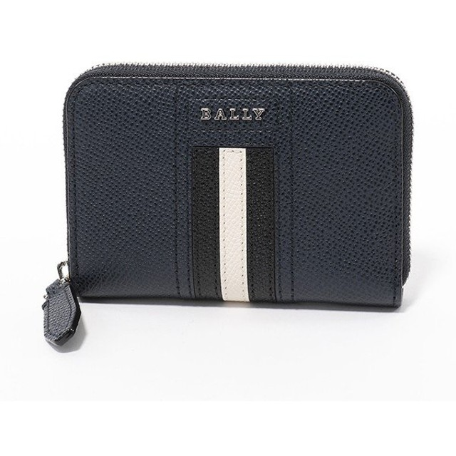 8411f1d90f09 BALLY バリー TIVY LT 17 レザー コインケース 小銭入れ カードケース ミニ財布 NEW-