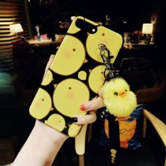 iPhoneX/iPhone8/iPhone8Plus/iPhone7/iPhone7Plus/iPhone6s/iPhone6 Plusケース立体鳥柄ストラップスマホケースMK30130