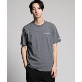 ティーケー タケオキクチ Champion for tk. TAKEO KIKUCHI ロゴ刺繍Tシャツ メンズ チャコールグレー(714) 03(L) 【tk. TAKEO KIKUCHI】