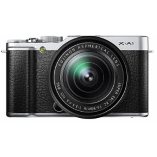 【中古 保証付 送料無料】ミラーレス FUJIFILM X-A1 レンズキット ホワイト   /  デジタルカメラ  / ミラーレス 一眼