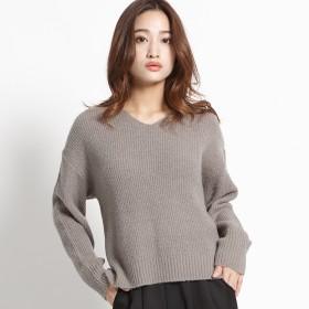 ニット・セーター - WEGO【WOMEN】 Vネックセーター BS18WN11-L004
