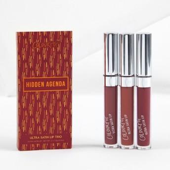 カラーポップ ヒドゥンアジェンダリップグロス3本セット / HIDDEN AGENDA Lip Bundle