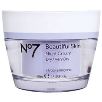 *No7* Beautiful Skin Night Cream ドライスキン用ナイトクリーム