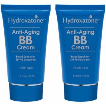 Hydroxatone Anti-Aging BB Cream, 2 packエイジングケアのBBクリーム2個セット