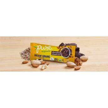 Pure Organic チョコレートチャンクナッツ ナッツバー 5本セット