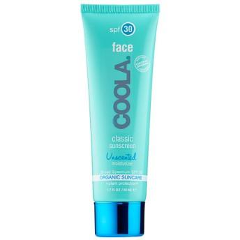 クーラ クラシックフェイス 日焼け止め SPF30 無香料 (Coola Classic Face SPF 30 - Unscented)